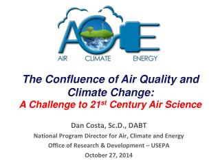 The Confluence of Air Quality and Climate Change:  A Challenge to 21 st  Century Air Science