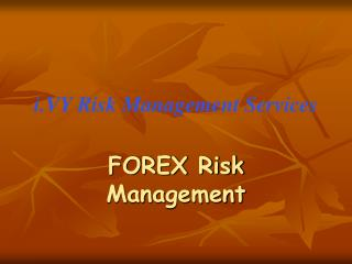 i.VY Risk Management Services