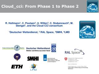 Cloud_cci: From Phase 1 to Phase 2