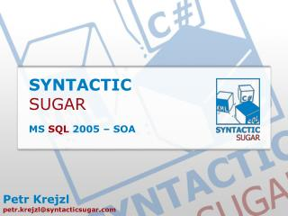 SYNTACTIC SUGAR