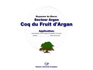 Coq du Fruit d'Argan