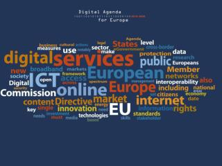 """Every European Digital"" N. Kroes N. Kroes´message on Digital Agenda for Europe"