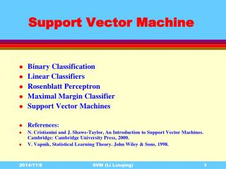 Support Vector Machine