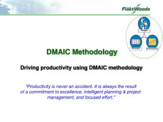 Driving productivity using DMAIC methodology