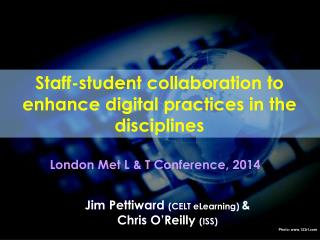 Staff-student collaboration to enhance digital practices in the disciplines
