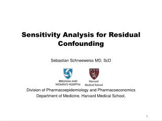 Sensitivity Analysis for Residual Confounding