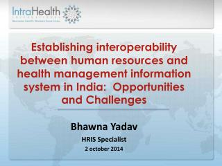 Need of Public Health Information Systems