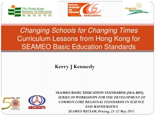 Ministry of Education  Adapting the Educational System to the 21st Century: Plan  Policy