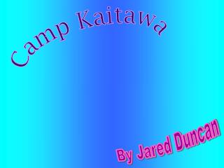 Camp Kaitawa