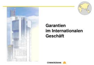 Garantien  im Internationalen  Geschäft