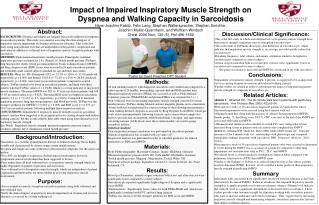 Impact of Impaired Inspiratory Muscle Strength on Dyspnea and Walking Capacity in Sarcoidosis