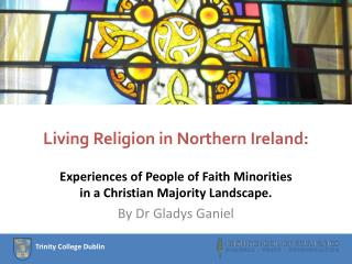 Living Religion in Northern Ireland: