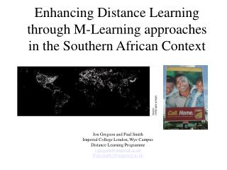 Enhancing Distance Learning through M-Learning approaches in the Southern African Context
