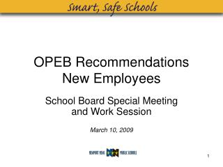 OPEB Recommendations New Employees