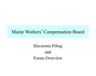 Maine Workers  Compensation Board