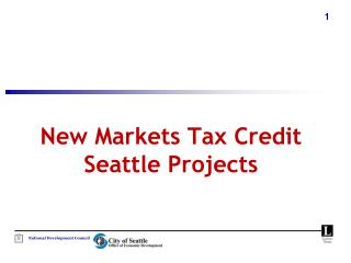 New Markets Tax Credit Seattle Projects