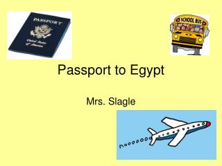 Passport to Egypt