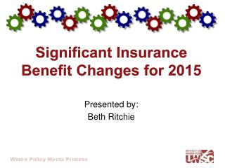 Significant Insurance Benefit Changes for 2015
