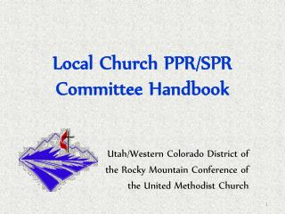 Local Church PPR/SPR Committee Handbook