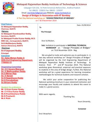 Date:  25/09/2014  To      The  Principal       Dear Sir/Madam,
