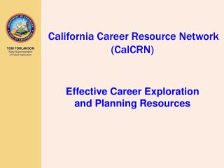 California Career Resource Network (CalCRN)