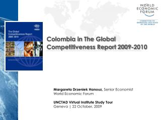 Colombia in The Global Competitiveness Report 2009-2010