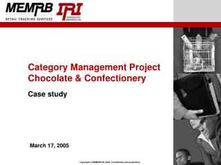Category Management Project Chocolate & Confectionery