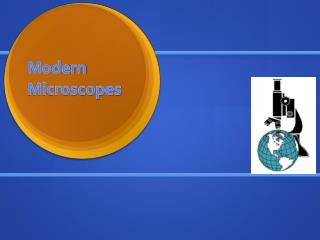 Modern Microscopes