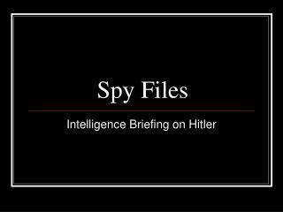 Spy Files