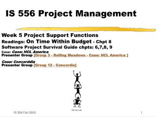 IS 556 Project Management