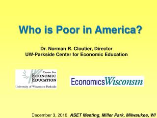 Who is Poor in America?