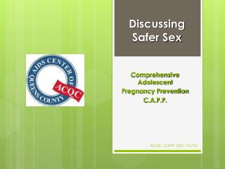 Discussing Safer Sex