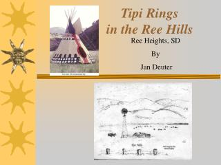 Tipi Rings  in the Ree Hills