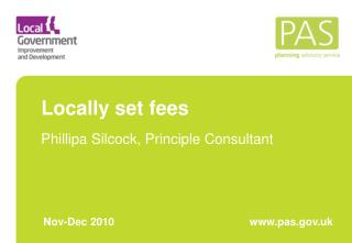 Locally set fees