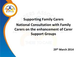 Supporting Family Carers