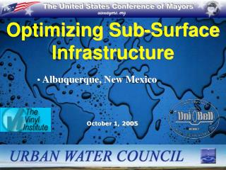 Optimizing Sub-Surface Infrastructure