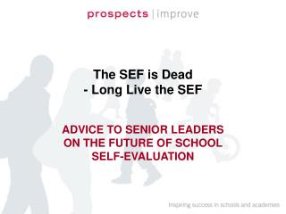 The SEF is Dead - Long Live the SEF