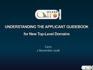Understanding the applicant guidebook for New Top-Level Domains