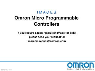 I M A G E S Omron Micro Programmable Controllers