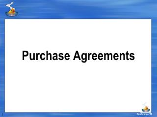 Purchase Agreements