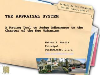 THE APPRAISAL SYSTEM