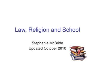 Law, Religion and School