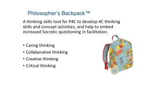 Philosopher's Backpack™