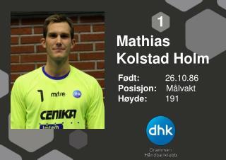 Mathias Kolstad Holm