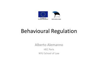 Behavioural Regulation