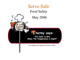 Serve Safe Food Safety