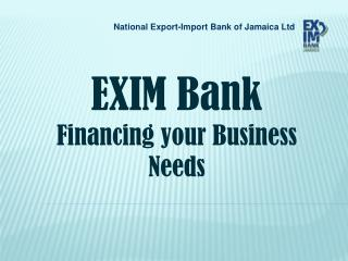 National Export-Import Bank of Jamaica Ltd