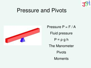 Pressure and Pivots