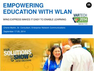 EMPOWERING EDUCATION WITH WLAN
