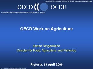 OECD Work on Agriculture